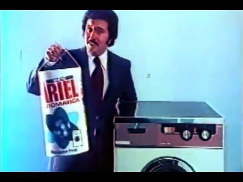 Resultado de imagen de foto antigua de detergente ariel