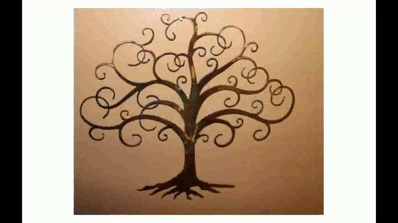 Tree Of Life Metal Wall Art Tree Of Life Metal Wall Art  Youtube