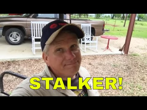A STALKER FOUND ME!