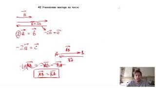 42. Умножение вектора на число