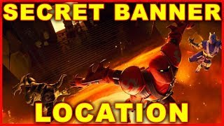 Fortnite Season 8 Week 2 Secret Banner Location