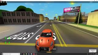 ROBLOX| Nissan GTR || fahren