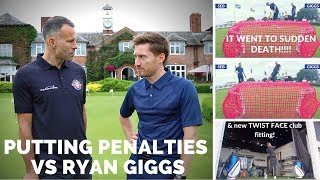 PLAYING GOLF WITH RYAN GIGGS & 2018 Club Fitting (Twist Face)