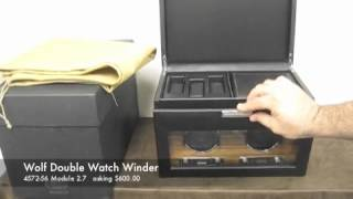 Wolf Designs Double Watch Winder M. 2.7  | For Sale