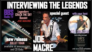 Joe Macre original 'Crack the Sky' bassist: New album!