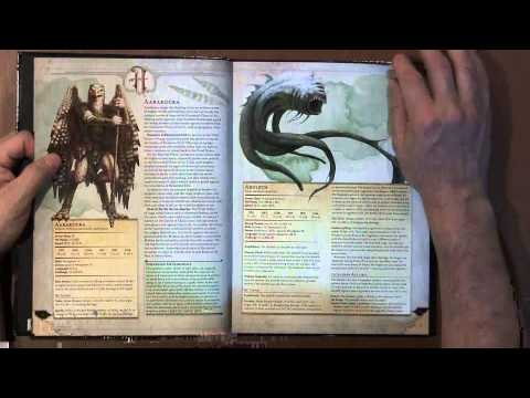 Flip Through Review 28: Monster Manual Dungeons And Dragons 5e