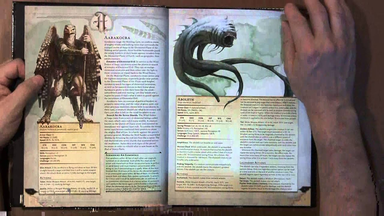 flip through monster manual d d next youtube rh youtube com d and d monster manual pdf 5e d and d monster manual 5e