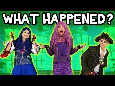Magic Spell on Mal? Descendants 2 School Recital Gone Wrong. Totally TV