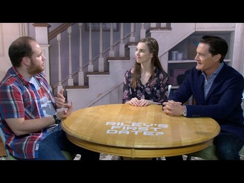 "'Inside Out' Stars Kyle MacLachlan and Kaitlyn Dias Play ""Would You Rather"" and More"