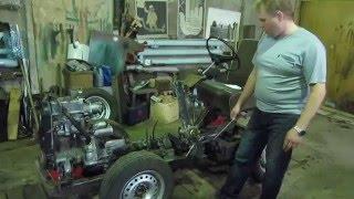 Самодельный минитрактор с двигателем