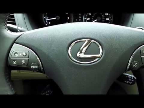 Lexus ES350 - How to Set Memory Seat/Steering Wheel/Mirrors
