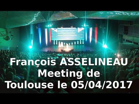 Meeting de François ASSELINEAU à Toulouse le 05/04/2017