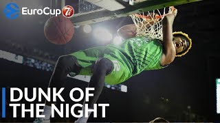 7DAYS EuroCup Dunk of the Night: Johnathan Hamilton, Darussafaka Tekfen Istanbul