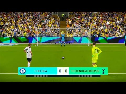 TOTTENHAM vs CHELSEA FC | EPL English Premier League | Penalty Shootout | PES 2019 Gameplay PC