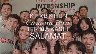SCG Excellent Internship Program international 2018 THAILAND