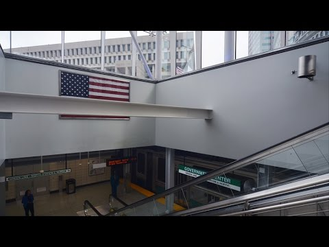 Government Center Station Reopens