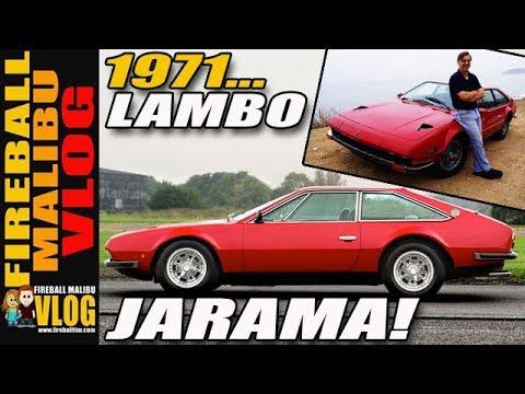 1971 Lamborghini Jarama Fireball Malibu Vlog 276 Youtube