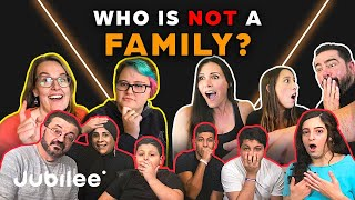 6 Families vs 1 Fake Family | Odd Man Out