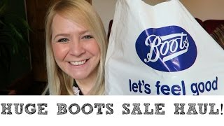HUGE BOOTS SALE HAUL!