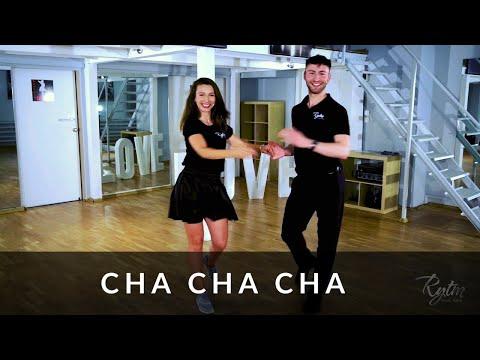 cha cha cha - Lekcja tańca - Kroki Podstawowe - Studio Tańca Rytm I cha cha cha tutorial in Polish