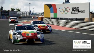 The Olympic Virtual Series Motor Sport Event