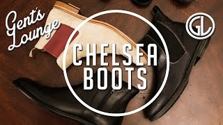 How-to Style Chelsea Boots || Men's Fashion || Gent's Lounge