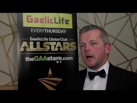 Gaelic Life Ulster Club Hurling Manager of the Year - Michael McShane (Slaughtneil)