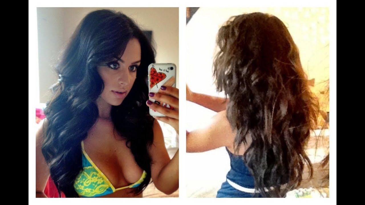 How to beachy waves hair tutorial carli bybel youtube pmusecretfo Choice Image