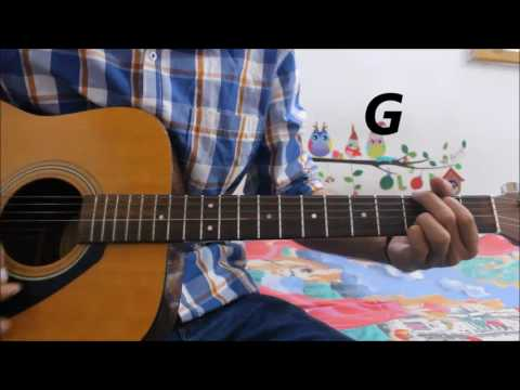 Hawayein – Arijit Singh -Jab Harry Met Sejal -Guitar Cover Lesson Hindi  Chords Easy