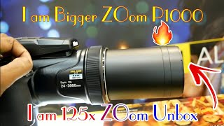 Nikon P1000 Zoom Camera! Review 125x Optical Zoom 4K UHD ||24-3000mm 🔥🔥