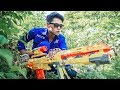 LTT Nerf War : SQUAD SEAL X Warriors Nerf Guns Mission Fight Crime Rescue Best Friend