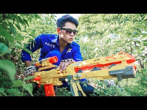 LTT Nerf War : SQUAD SEAL X Warriors Nerf Guns Mission Fight Crime Rescue Best Friend