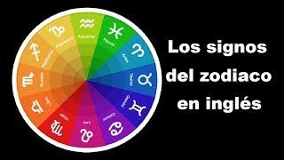 Los signos del zodiaco en inglés