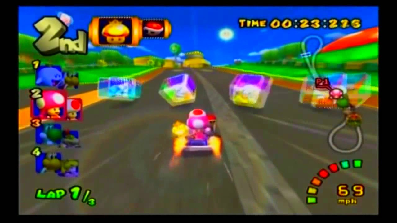 Copy Of Mario Kart Double Dash All Special Items Hd 720p