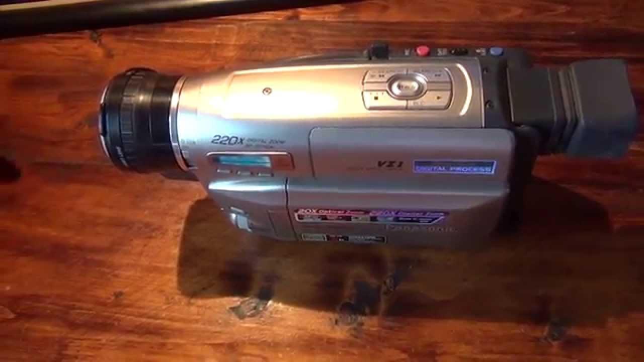 Видеокамера панасоник 760,наконец то купил, И загадка для зрителей .