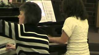 Parade Of The Wooden Soldiers Piano Duo 2010.wmv