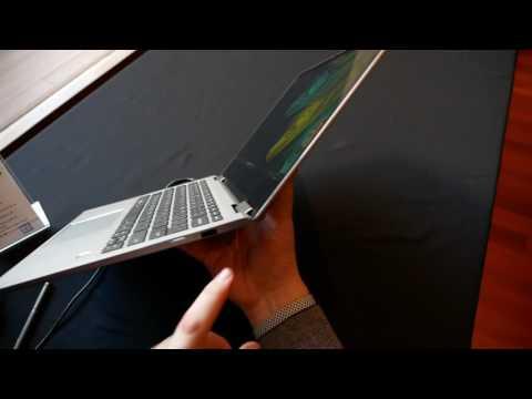Lenovo Yoga 720 13 2 In 1 Convertible Hands On English Youtube