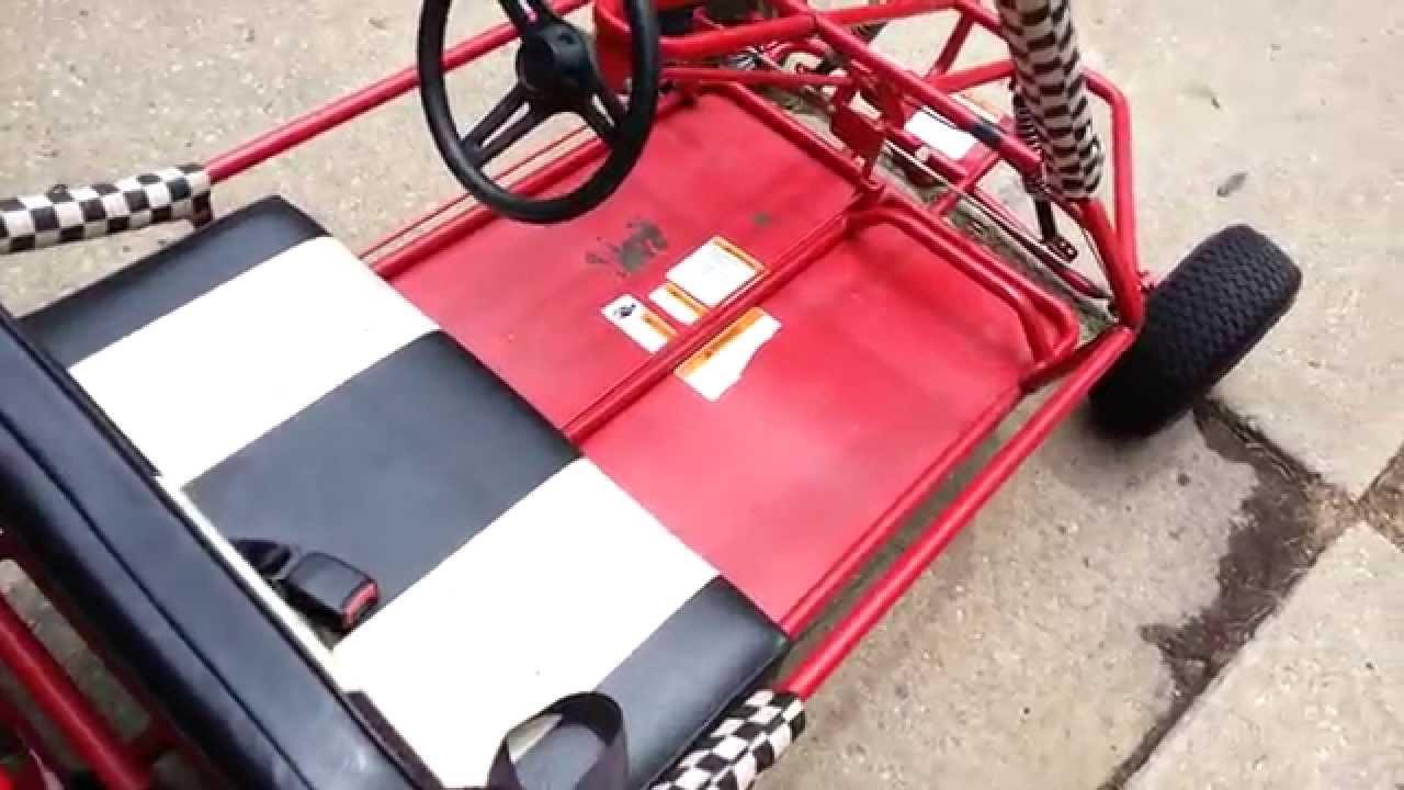Yerf Dog Go Kart - New Parts & Engine Mounted