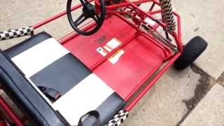 Yerf Dog Go Kart - New Parts & Engine Mounted