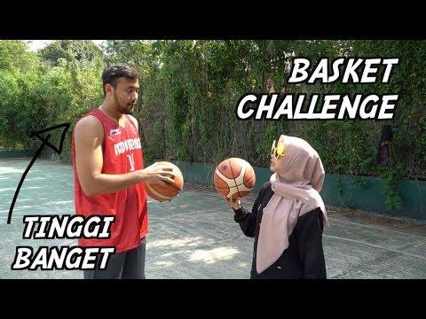 Main Basket Sampe Mau Pingsan Bareng Atlet 💪😭