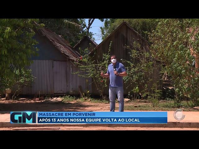 MASSACRE EM PORVENIR: NOSSA EQUIPE VOLTA AO LOCAL ONDE 20 CAMPONESES FORAM ASSASSINADOS HÁ 13 ANOS