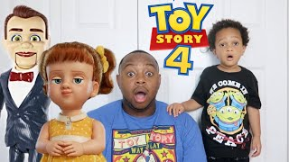 Toy Story 4 Toys Are Missing! Gabby Gabby And Benson Play Tricks on YouTube Families!