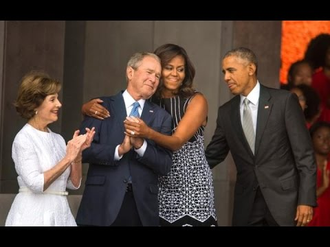 President Obama dedicates the Smithsonian Museum of African American History