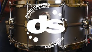Steel 13x7 Snare Drum by DS Drum (Sound Examples)