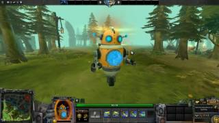 Dota 2 Unusual Tinkbot Bleak Hallucination Diretide Orange