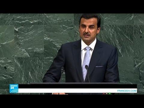 أمير قطر يندد بالحصار المفروض على بلاده من منبر الأمم المتحدة  - 10:21-2017 / 9 / 20