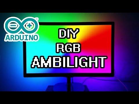 DIY Arduino Ambilight RGB WS2812b Full Build & How-To