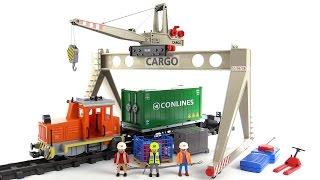 Playmobil RC Cargo Train mega-set review! 4085