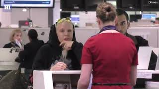 Imogen Anthony has meltdown with her entourage at Sydney Airport