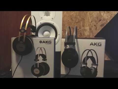 REVIEW  l  AUDIFONOS AKG K92 Y AKG K77 PERCEPTION